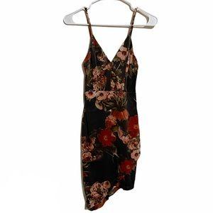 BWindsor Floral Velvet Bodycon Dress